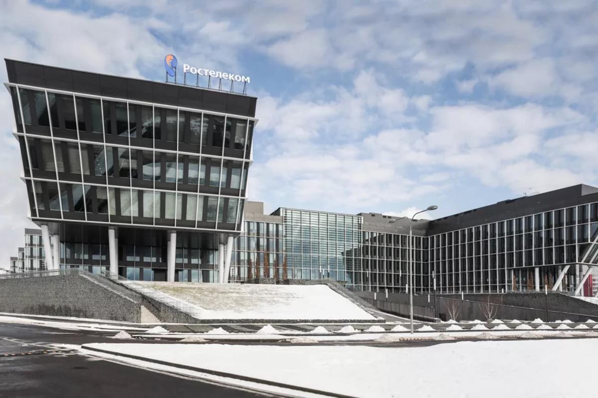 Офисный парк «Comcity», штаб-квартира «Ростелеком»