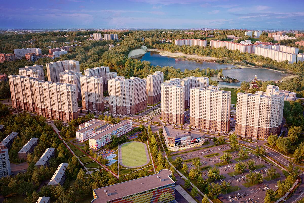 Многоэтажная жилая застройка